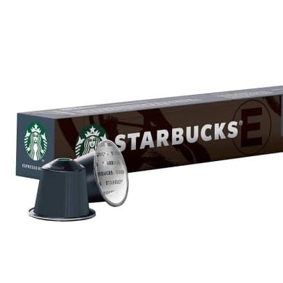 Espresso Roast fra Starbucks til Nespresso