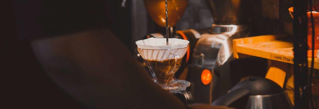 Slow brew coffee