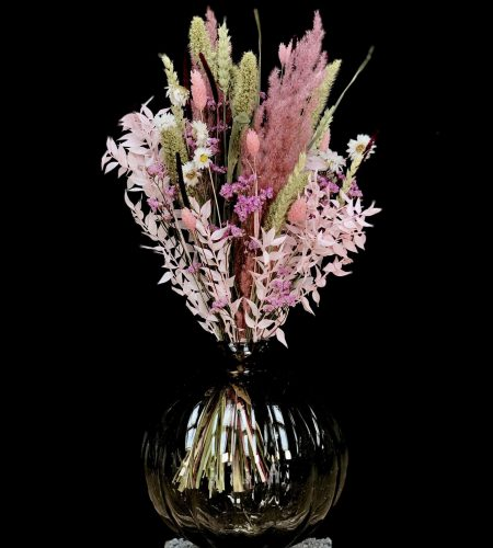 Pink og lyserød evighedsbuket